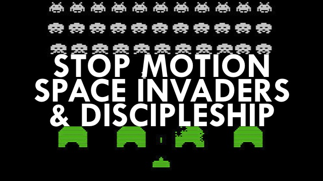 Stop Motion Space Invaders