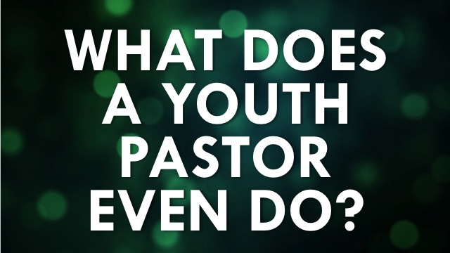 Youth Pastor Do